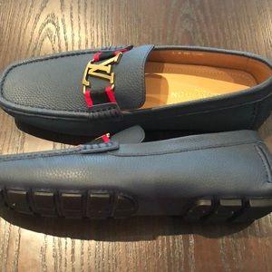 79b7c3d529b8 Louis Vuitton Shoes - Louis Vuitton men s Monte Carlo drivers size 9
